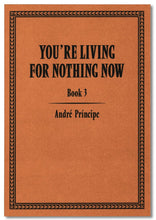Load image into Gallery viewer, YOU'RE LIVING FOR NOTHING NOW (BOOK 3) by André Príncipe