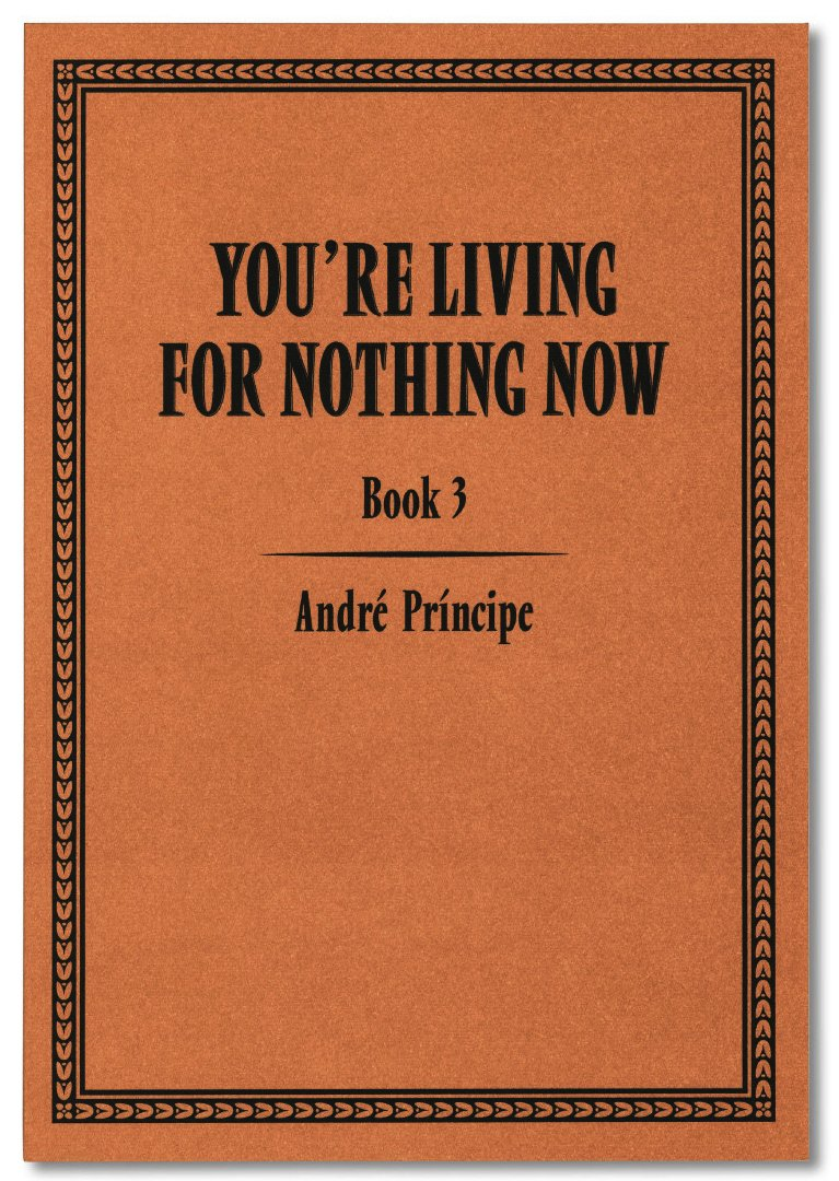 YOU'RE LIVING FOR NOTHING NOW (BOOK 3) by André Príncipe