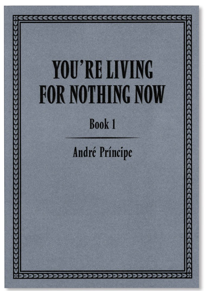 YOU'RE LIVING FOR NOTHING NOW (BOOK 1) by André Príncipe