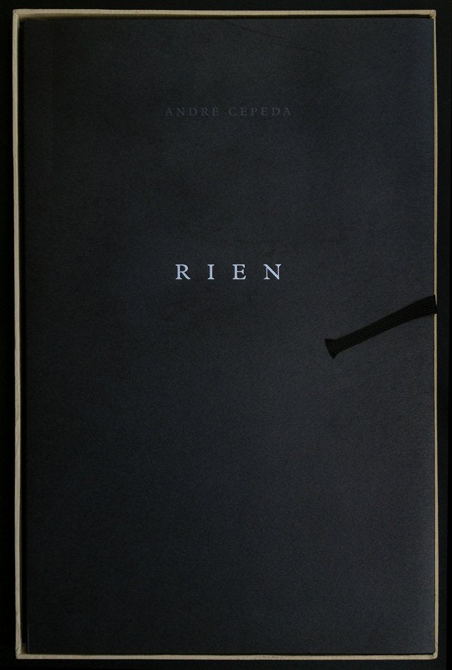 RIEN by André Cepeda SPECIAL EDITION W/ 4 Prints