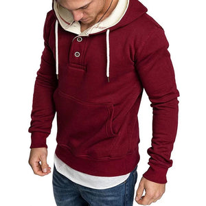 Fashion Hooded Pocket Long Sleeve Sweaters