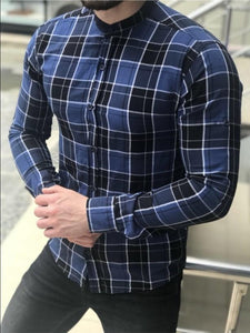 2019 New Men's Hot Plaid Shirt
