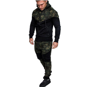 Camouflage Sports Large Size Suit