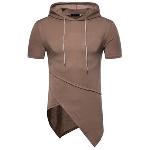 Hooded short-sleeved T-shirt is not a standard long-sleeved shirt