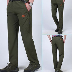 Fashion Youth Casual Business Plain Long Pants