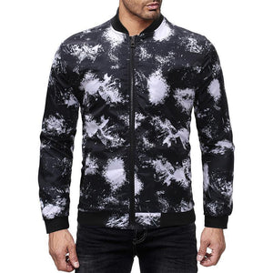 Men Printed Bomber Jackets