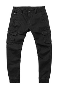 Mens Washed Multicolor Pocket Jogger Pants