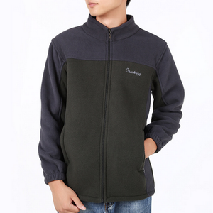 Fleece Full-Zip Long-Sleeve Jacket