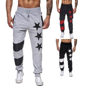 Pentagram Design Loose Casual Pants