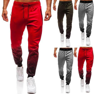 Men's 3D Gradient Print Sports Sweatpants