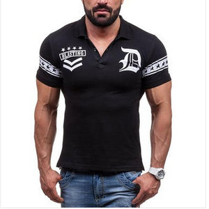 Fashion Printed Short Sleeve Casual T-Shirts