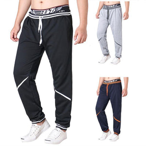 Casual Contrasting Color Splicing Sport Pant