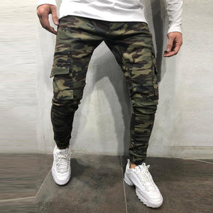 New Camouflage Work Jeans