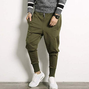 Solid Color Fashion Loose Slim-Fit Pants
