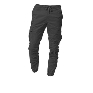 Fashion Multi-Pocket Trousers Overalls