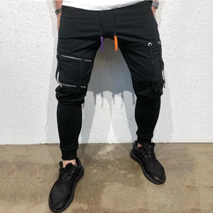 Men's Pocket Splicing Casual Pants
