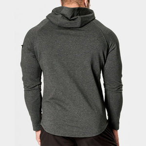 Leisure Sports Long Sleeve Men's Running Training Slim Sweater