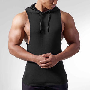 Men's Solid Color Sleeveless Sweater