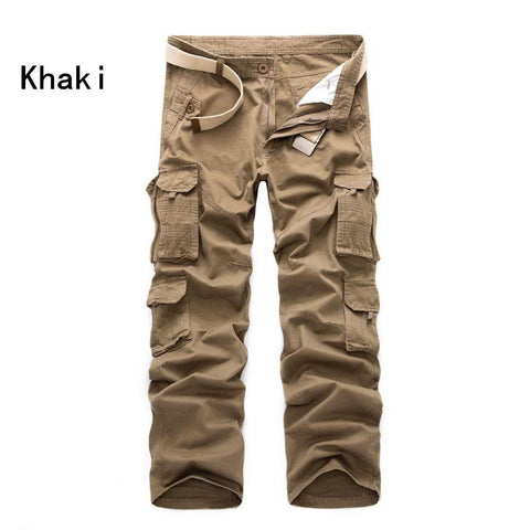 Solid Color Men's Casual Pants