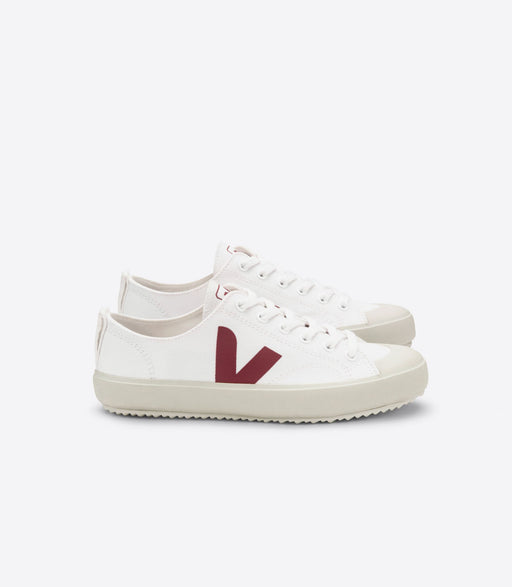 Sneakers Veja Nova, canvas, white marsala