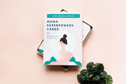 MAMA SUPERPOWERS CARDS