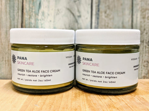 Green Tea Aloe Face Cream