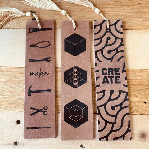 Make, Shape and Create Leather Bookmark Pack
