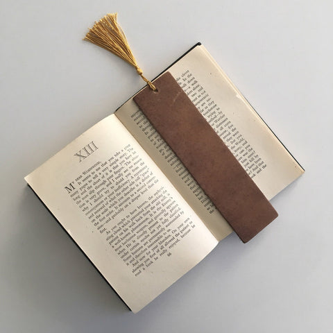 Northbound Notebooks Leather Bookmark