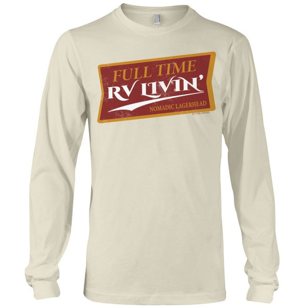 Rving womens long sleeve tees for campers