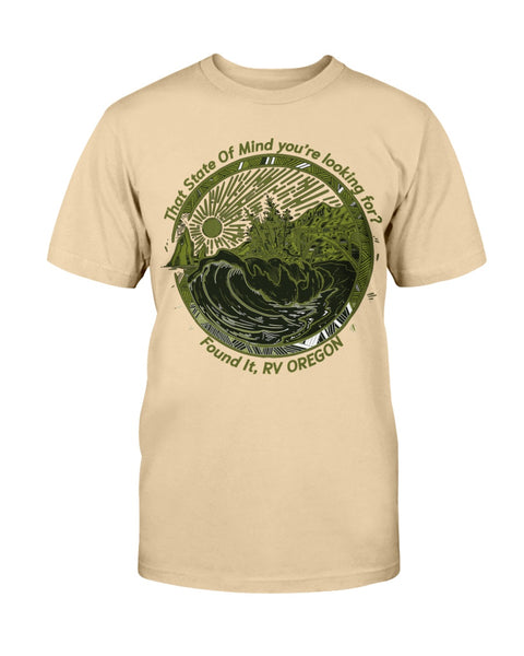 RVing mens shirts for Oregon Campers