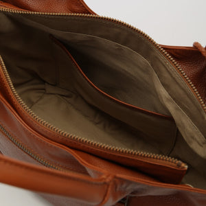 Leather Handbag: Airbag