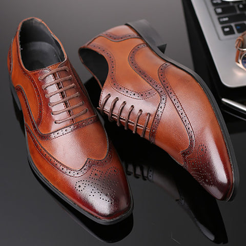 Retro Business Dress Fashion Casual Shoes