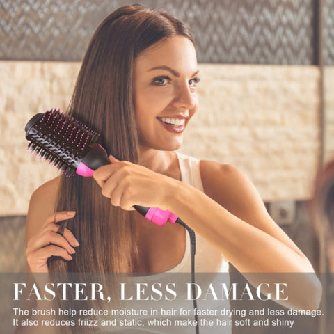 2-In-1 Professional Hair Dryer Brush