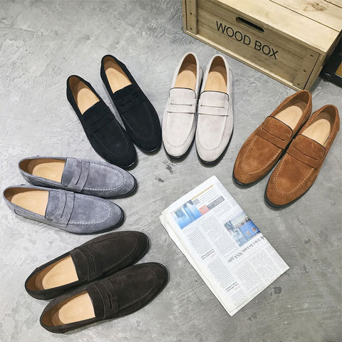 Personality casual flat with lazy shoes
