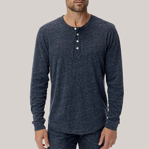 Casual Round Neck Pure Color Long Sleeve T-Shirt