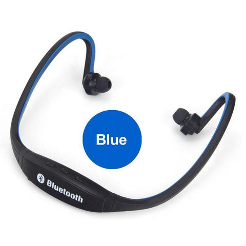 Bluetooth wireless headsets in the back, sports style