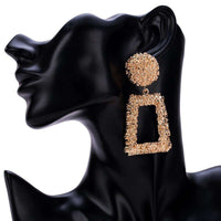 Musho Station:Big Vintage Earrings for women with color,