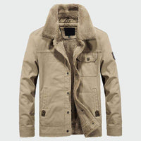 Musho Station:Casual Hooded  Men's Thick Fleece Coats,Men Clothing