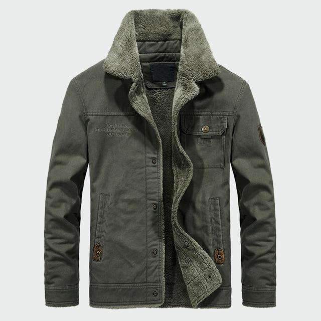 Musho Station:Casual Hooded  Men's Thick Fleece Coats,Men Clothing,Musho Station,Musho Station