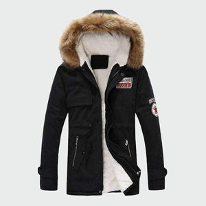 Musho Station:Casual Hooded Men's Thick Winter Coats Warm,,Musho Station,Musho Station