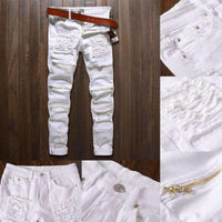 Musho Station:Classic Slim Jeans,