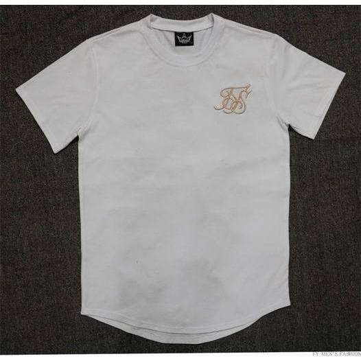 Musho Station:Extend hip hop street T-shirt SilK short sleeve oversize pure color,,Musho Station,Musho Station