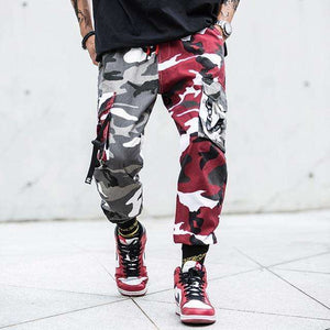 Musho Station:Fashion Streetwear Camouflage Jogger Pants,,Musho Station,Musho Station