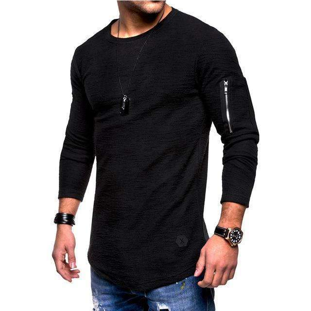 Musho Station:Long Sleeve Street Slim Men's Top,,Musho Station,Musho Station
