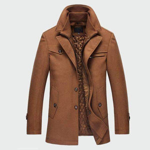 Musho Station:Mens Casual Warm Outerwear Jacket Slim Fit,,Musho Station,Musho Station