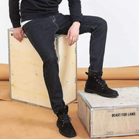 Musho Station:Pioneer Camp new black jeans,