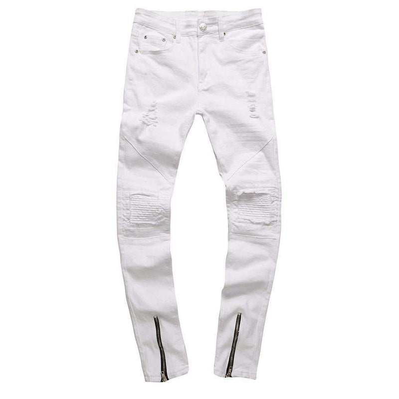 Musho Station:Ripped Slim Fit  Jeans,,Musho Station,Musho Station