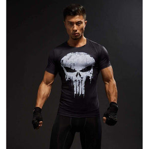 Musho Station:Short Sleeve 3D T Shirt  Cross-fit,T-Shirt