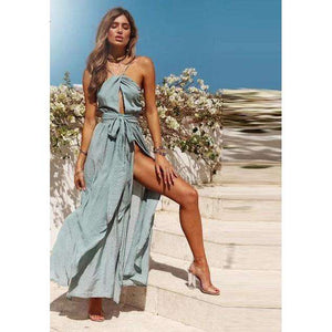 Musho Station:Summer Boho Maxi Long Beach Dress,,Musho Station,Musho Station