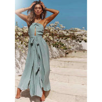 Musho Station:Summer Boho Maxi Long Beach Dress,